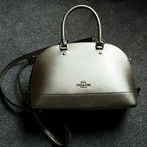 Coach leather Sierra satchel